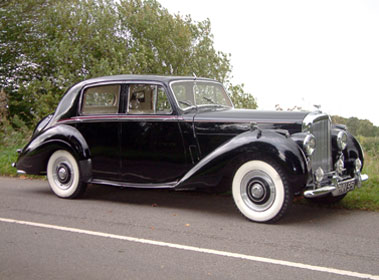 Lot 79-1954 Bentley R-Type Saloon