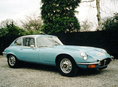 Lot 80-1971 Jaguar E-Type V12 Coupe