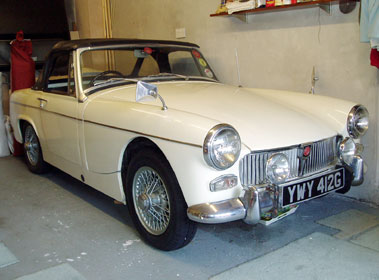 Lot 4-1969 MG Midget MKIII