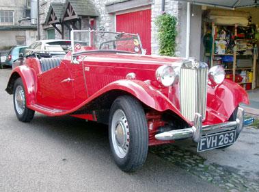 Lot 5-1951 MG TD