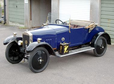 Lot 4-1922 Hands 10/20 Tourer