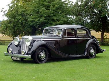 Lot 23-1947 Jaguar 3.5 Litre Saloon