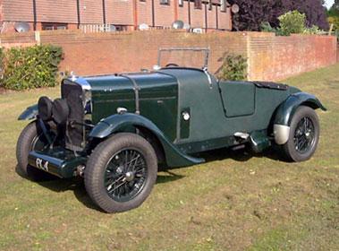 Lot 17-1930 Talbot 90 Fox & Nicholl Team Car