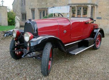 Lot 21-1922 Fiat 501 Tourer