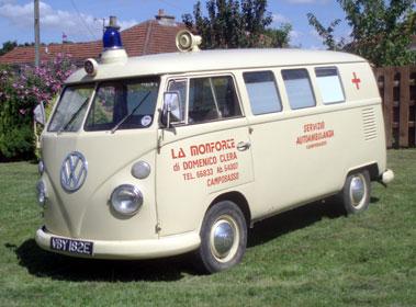 Lot 18-1967 Volkswagen Type 2 Ambulance
