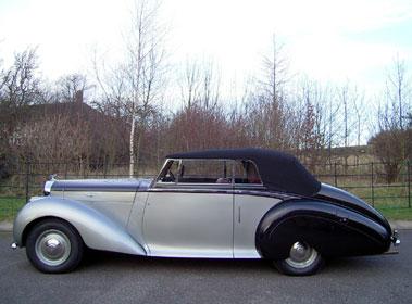 Lot 16-1950 Bentley MK VI Park Ward Drophead Coupe