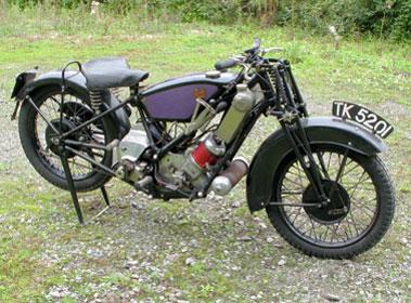 Lot 3-1930 Scott 600cc
