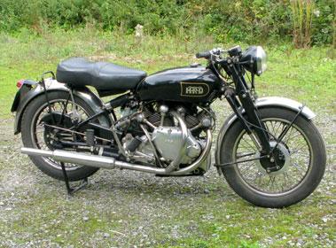Lot 7-1949 Vincent Rapide Series B