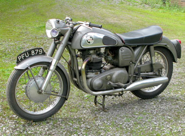 Lot 5-1957 Norton Dominator 99