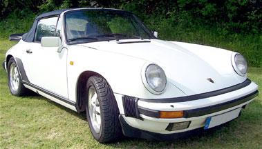 Lot 3-1988 Porsche 911 Carrera Sport Cabriolet