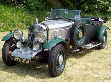 Lot 5-1946 Rover 12hp Special Tourer
