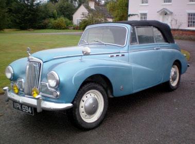 Lot 32-1954 Sunbeam MK III Drophead Coupe