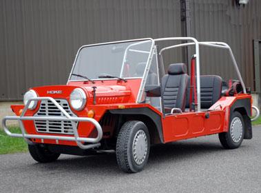 Lot 40-1989 Austin Mini Moke