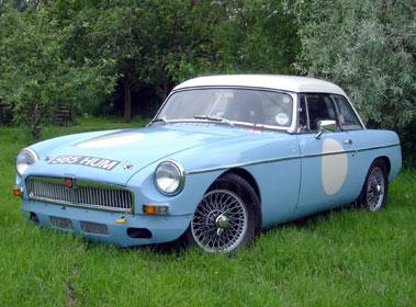 Lot 7-1964 MG B Roadster