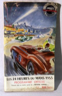 Lot 104-1953 24 Heures du Mans Official Programme