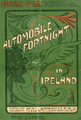 Lot 100-Automobile Fortnight in Ireland - The Official Guide