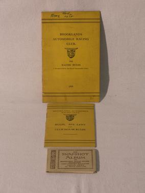 Lot 109-Brooklands Paperwork