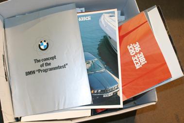 Lot 105-Quantity of BMW Sales Brochures