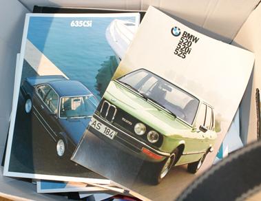 Lot 115-Quantity of BMW Sales Brochures
