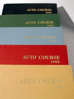 Lot 106-Bound Autocourse Magazine - Volumes 1 - 5