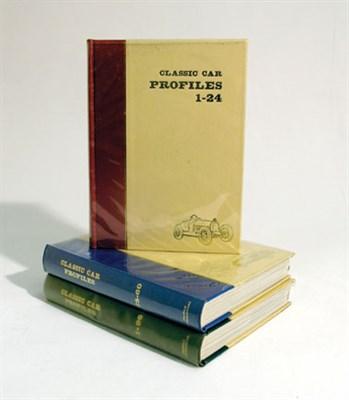 Lot 125-Classic Car Profiles Bound Volumes