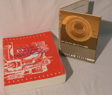 Lot 136-Porsche 356 Handbook & Instruction Manual