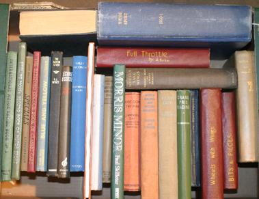 Lot 140-A Quantity of Pre & Post-War Motoring Books