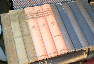 Lot 145-Early Technical Bound Volumes