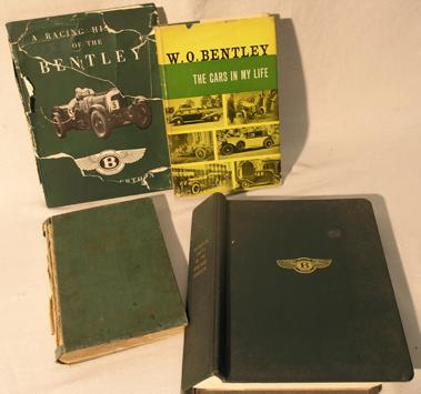 Lot 148-Four Bentley Books