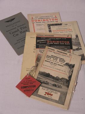 Lot 114-International Donington Grand Prix Official Programmes