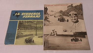 Lot 120-La Scuderia Ferrari Magazine - Two Issues
