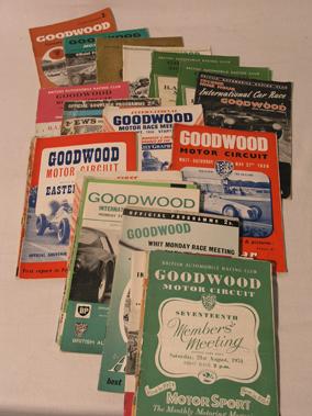Lot 124-Goodwood Motor Racing Programmes (1948-1966)