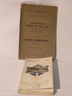 Lot 128-Early Motorcar Paperwork - Royal Automobile Club