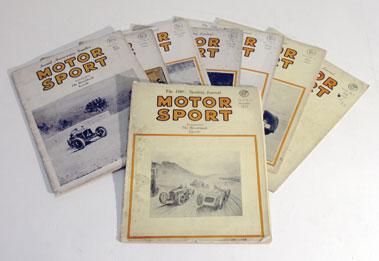 Lot 164-Motorsport Magazine - Volume 3 & 4