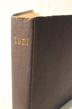 Lot 165-Motorsport Magazine, Volume 7. (1930 - 1931)