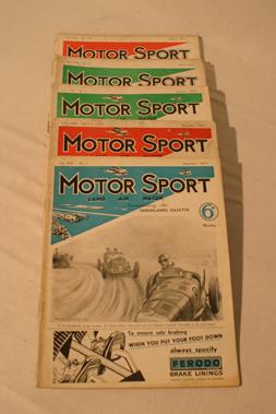 Lot 166-Motorsport Magazine, Volume 8. (1931 - 1932)