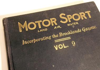 Lot 167-Motorsport Magazine, Volume 9. (1932 - 1933)