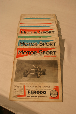 Lot 168-Motorsport Magazine, Volume 10. (1933 - 1934)