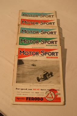 Lot 169-Motorsport Magazine, Volume 11. (1934 - 1935)