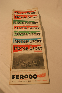 Lot 170-Motorsport Magazine, Volume 12. (1935 - 1936)