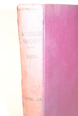 Lot 172-Motorsport Magazine, Volume 14. (1938)