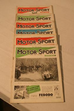 Lot 173-Motorsport Magazine, Volume 15. (1939)