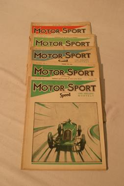 Lot 175-Motorsport Magazine, Volume 17. (1941)