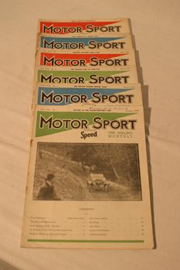 Lot 177-Motorsport Magazine, Volume 19. (1943)
