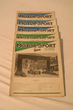 Lot 178-Motorsport Magazine, Volume 20. (1944)