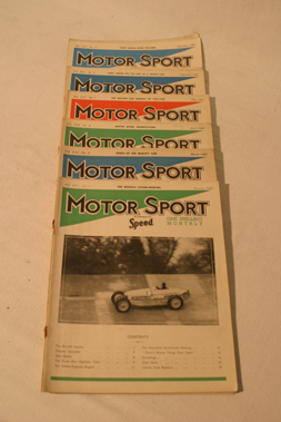 Lot 179-Motorsport Magazine, Volume 21. (1945)
