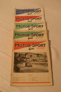 Lot 180-Motorsport Magazine, Volume 22. (1946)