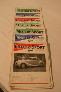 Lot 181-Motorsport Magazine, Volume 23. (1947)