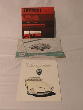Lot 138-Four Sales Brochures