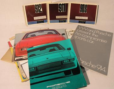 Lot 143-Assorted Porsche Literature